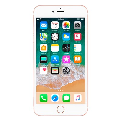 Apple iPhone 6s Plus Rose Gold (Certified Pre-Owned) with 1 Year Apple Warranty