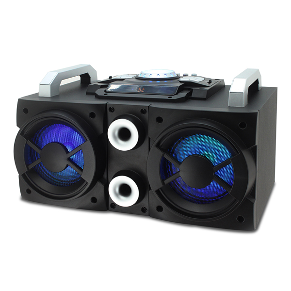 Image of Akai 200W Ultimate Party Speaker with Built-In Disco Lights
