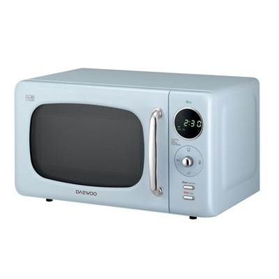 Daewoo Blue Touch Control Microwave with Zero Standby ECO Function 800W 20L
