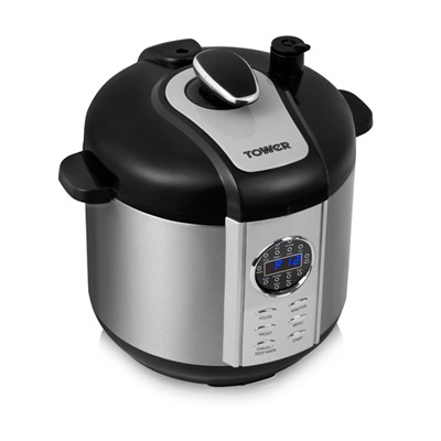 Tower Health One Pot Express 12 in 1 Electric Pressure Cooker 1100W 6L
