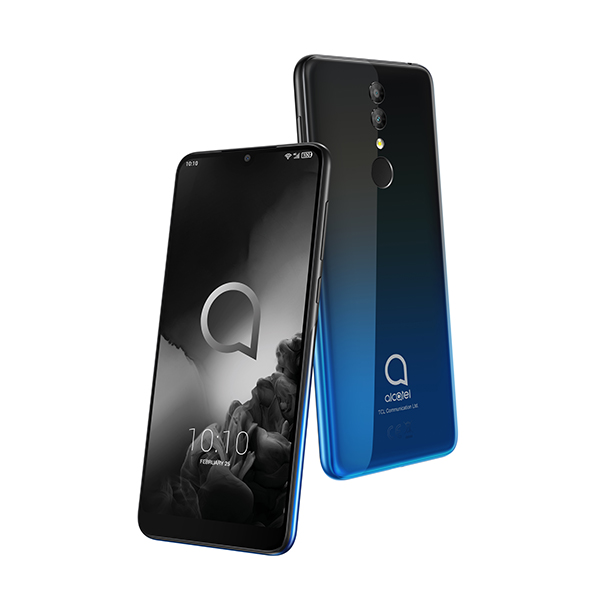 £160 off Alcatel 3 2019 5.9 inch HD Plus Smartphone, Android Oreo, 32GB/3GB, Dual up to 16MP Camera, Face Unlock