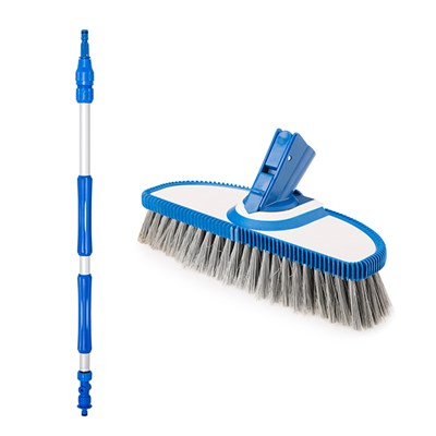 Vario Soft Bristle Brush with 80-150cm Telescopic Handle