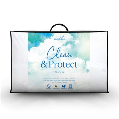 Snuggledown Clean & Protect Teflon Pillow