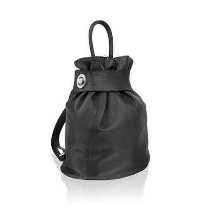 Woodland Leather Adjustable Rucksack