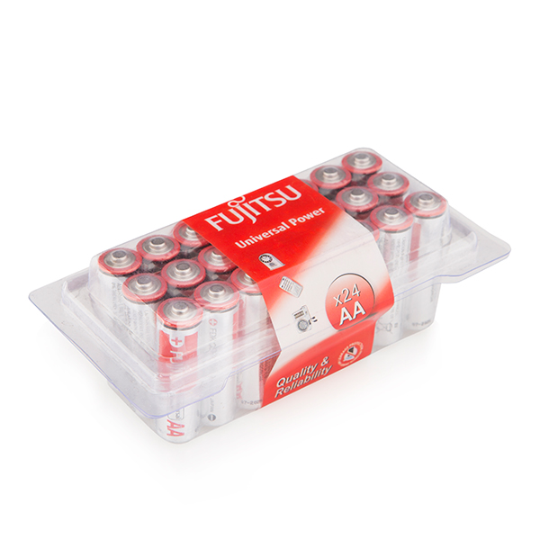 Fujitsu AA Batteries (24 Pack) No Colour