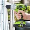 Greenworks 24V Cordless Combi Drill & Impact Wrench Twinpack with 1 x 2Ah Battery & Fast Charger