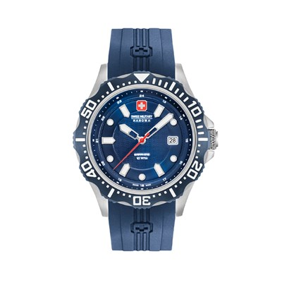 Swiss Military By Hanowa Mens Patrol Watch with Silicone Strap