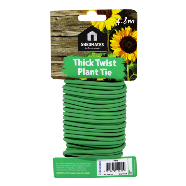 Sponge Twisty Garden Tie 4.8m x 5mm No Colour