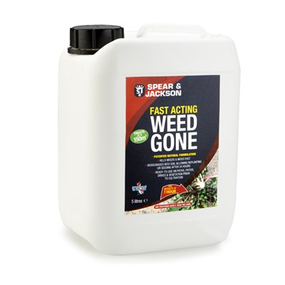 Spear & Jackson 5L Weed Gone with Long Hose Sprayer