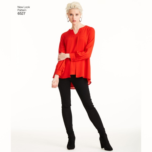 New Look Ladies Sewing Pattern 6527 Tunic Tops in Two Lengt... Free UK P/&P