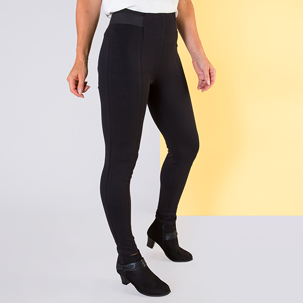 Styled By Ponte Legging 25in Black