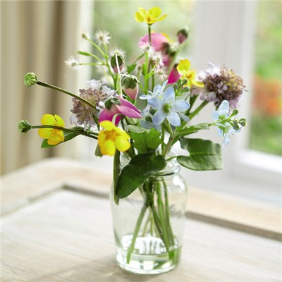 Meadow Flower Arrangement with BONUS Silk Flower Cleaning Spray 1603633