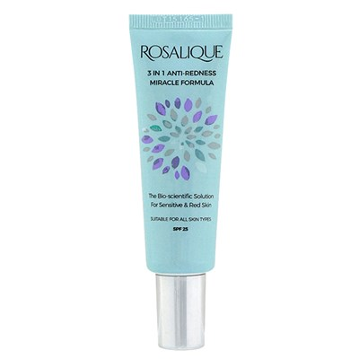 Rosalique 3 in 1 Anti-Redness Miracle Formula SPF25. 30ml