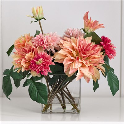 Pompom Dahlia Centrepiece with BONUS Cleaning Spray