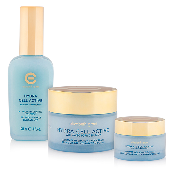 Elizabeth Grant Hydra Cell Active 3 Piece Ultimate Skin Moisture Collection No Colour