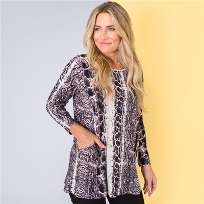 Emelia Velvet Touch Pocket Tunic