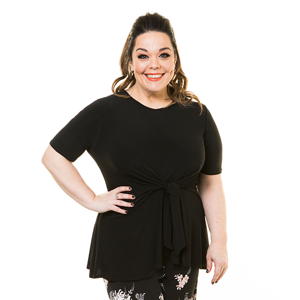 10% off Just Be You Tie Top