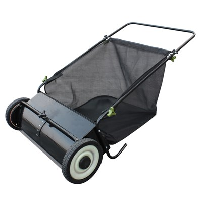 The Handy Push Lawn & Leaf Sweeper