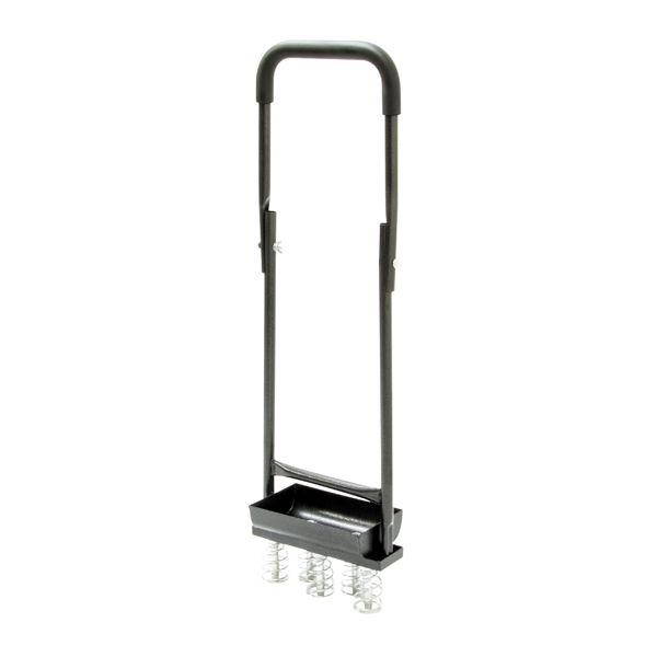 The Handy Hollow Tine Aerator with Folding Handles and Collecting Tray No Colour
