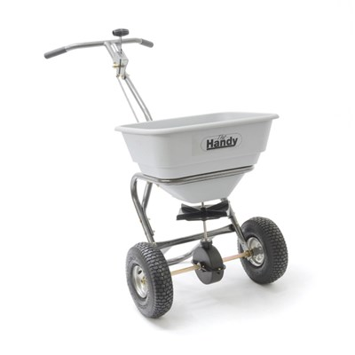 The Handy Heavy Duty Easy-Build Broadcast Spreader 32kg  (70lb)