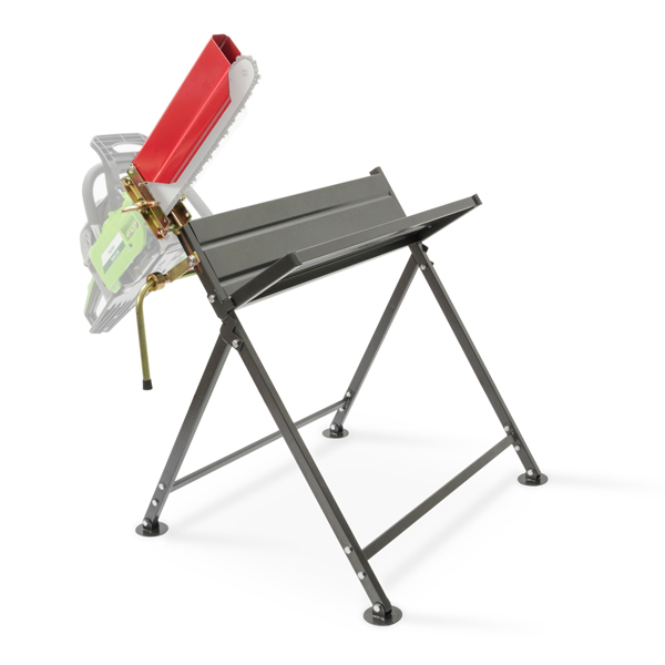The Handy Foldable Saw Horse with Chainsaw Support No Colour