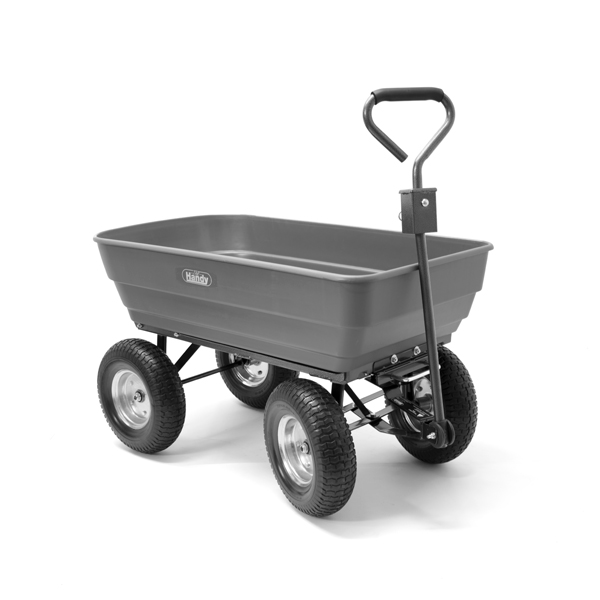 The Handy Poly Body Garden-Trolley 200kg - 440lb No Colour