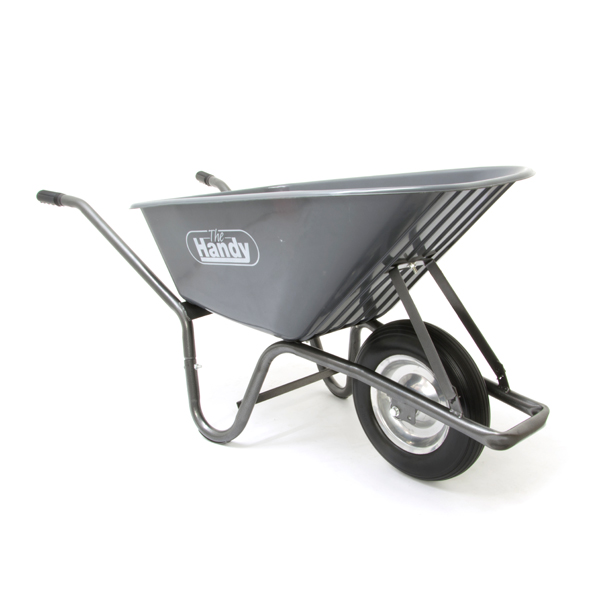 The Handy Poly Wheelbarrow 90 Litre No Colour