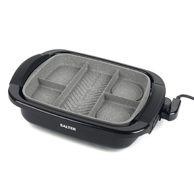 Salter Non-Stick Multi Portion Grill