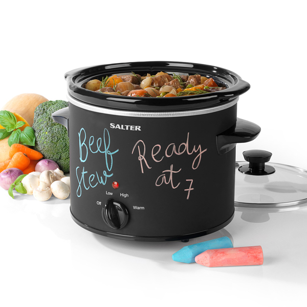 Salter Chalkboard Slow Cooker 3.5L No Colour