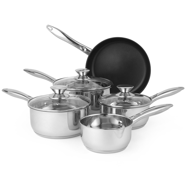 Russell Hobbs BW06572 Classic Collection 5 Piece Pan Set No Colour