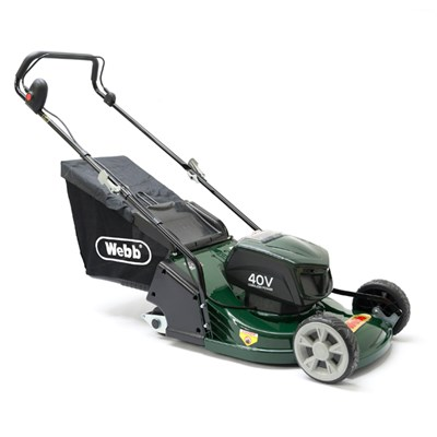 Webb WERR17LIP Push Cordless Rear Roller Rotary Lawnmower