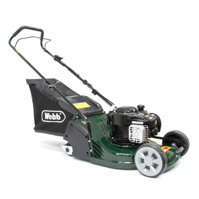 Webb WERR17P Supreme Push Petrol Rotary Lawnmower