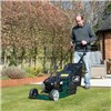 Webb Supreme Self Propelled Petrol Rear Roller Rotary Lawnmower  43cm - 17in