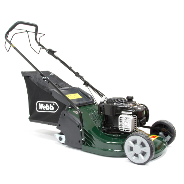 Webb WERR17SP Supreme Self Propelled Petrol Rotary Lawnmower 43cm - 17in No Colour