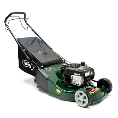 Webb WERR19SP Supreme Self Propelled Petrol Rotary Lawnmower 48cm - 19in