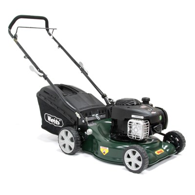 Webb WER16HP Supreme Push 4 Wheel Petrol Rotary Lawnmower 41cm - 16in