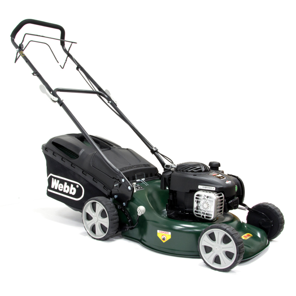 Webb WER18SP  Supreme Self Propelled Petrol Rotary Lawnmower 46cm - 18in No Colour