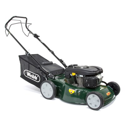 Webb Classic Self Propelled Petrol Rotary Lawnmower 46cm - 18in