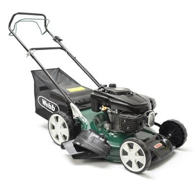 Webb WER51SP Classic Self Propelled 4 Wheel Petrol Rotary Lawnmower 51cm - 20in
