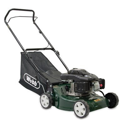 Webb WER41HP Classic Push Petrol Rotary Lawnmower 40cm - 16in