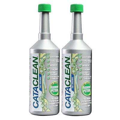 Cataclean Fuel Additive for Petrol 500ml (Twin Pack)