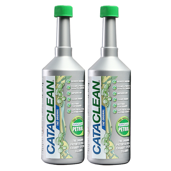Cataclean Fuel Additive for Petrol 500ml (Twin Pack) No Colour