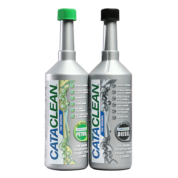 Cataclean Fuel Additive for Petrol and Fuel Additive for Diesel 500ml No Colour