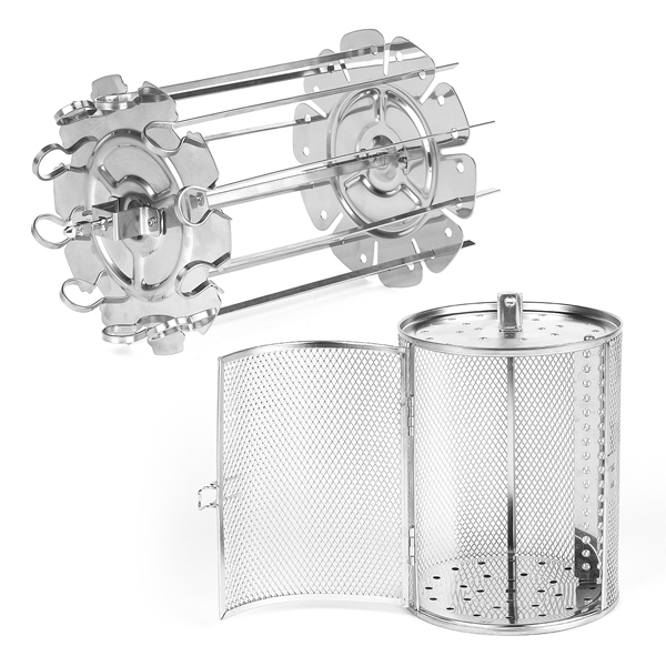 Accessories for Salter XL Power Cook Pro inc. 1 x Skewer Rack and 1 x Rotisserie Basket No Colour