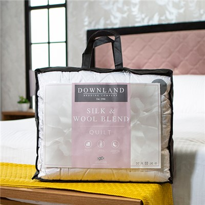 Downland Super King Mulberry Silk & Wool T300 Duvet