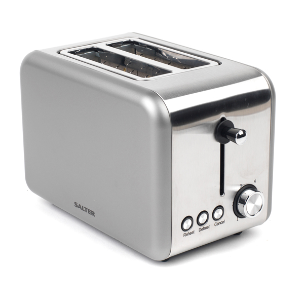 Salter Polaris Titanium 2 Slice Toaster No Colour