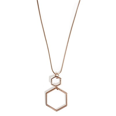 Phase Eight Hexagon Pendant