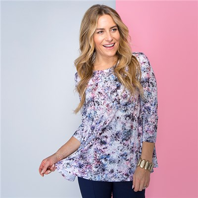 Phase Eight Print Top