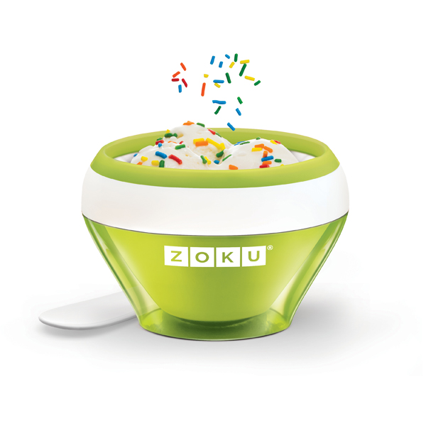 Zoku Ice Cream Maker Green 1