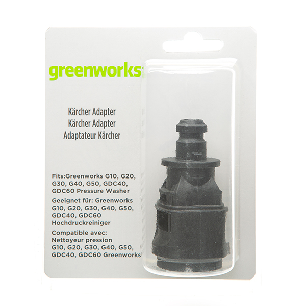 Greenworks Universal Pressure Washer Accessory Adapter No Colour